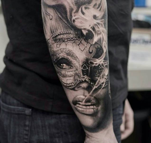 Awesome Latino Tattoo For Boy